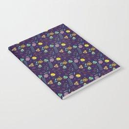 Flora & Beetles (purple) Notebook