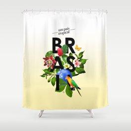 BRASIL Flora - CAPOEIRA RULES Shower Curtain