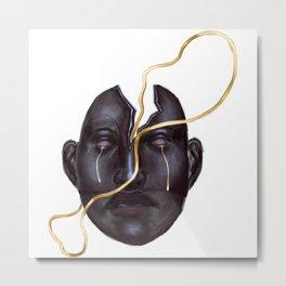 Head of Tears Metal Print