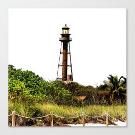 Sanibel Island Lighthouse Canvas Print