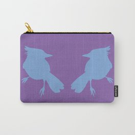 facing jays (color) Carry-All Pouch