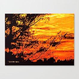 Summer Breeze - Graphic 2 Canvas Print