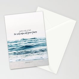 He Will Calm All Your Fears Stationery Cards