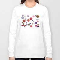 constellations Long Sleeve T-shirts featuring Constellations by Ninola