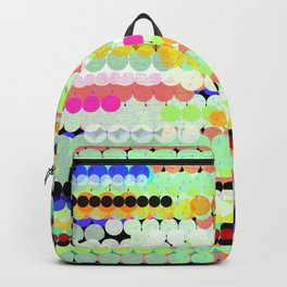 colorful abstract design Backpack