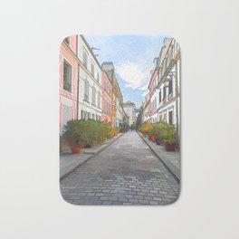 Rue Cremieux in Paris Bath Mat