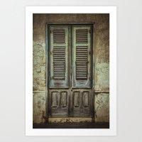italian Art Prints featuring Italian Door III by Maria Heyens