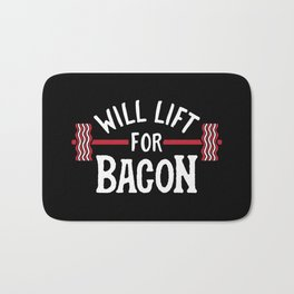 Will Lift For Bacon Bath Mat