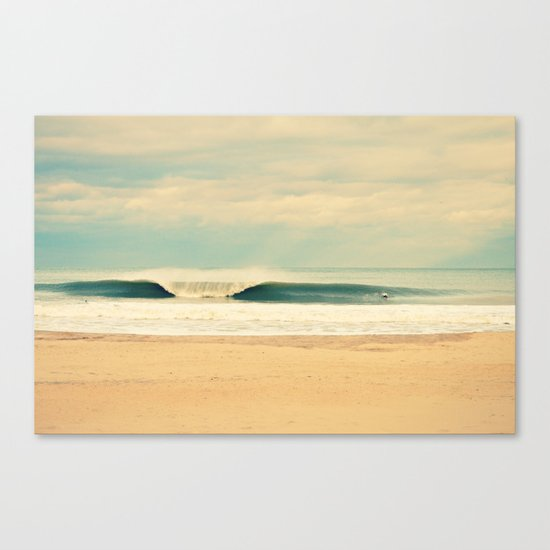 Winter Wave Canvas Print
