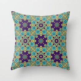 Aquabubbles Throw Pillow