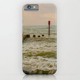 Cart Gap beach on the North Norfolk coast iPhone Case