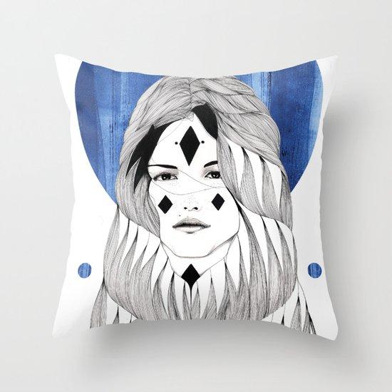 Winter Hymn Throw Pillow