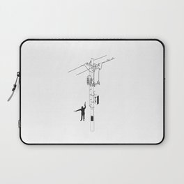 Tokyo Electric Pole Laptop Sleeve