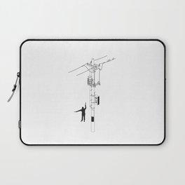 Tokyo Electric Pole Laptop Sleeve