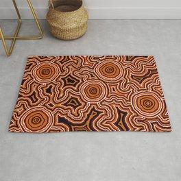 Authentic Aboriginal Artwork - Pathways Rug
