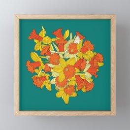 Daffodil Bouquet Framed Mini Art Print
