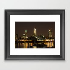 London by Night Framed Art Print
