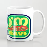 rave Mugs featuring I'm Into Rave by chobopop