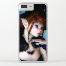 Halloween Sweety Clear iPhone Case