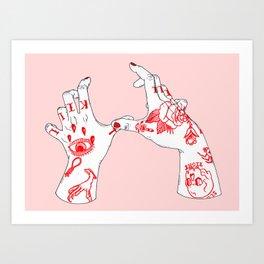 Kill Kill Art Print