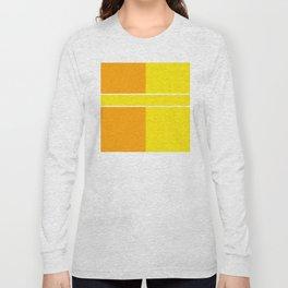 Team Colors 6...yellow,orange Long Sleeve T-shirt