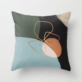 Geometric cosmos Throw Pillow