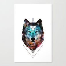 Sacred Wolf Canvas Print