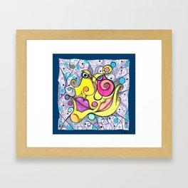 Near you! Framed Art Print