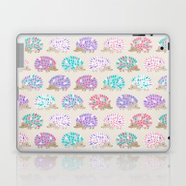 Hedgehog polkadot Laptop & iPad Skin