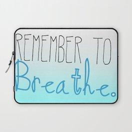 A Gentle Reminder Laptop Sleeve