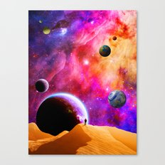 Space Solitude Canvas Print