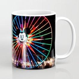 Paradise Pier at Night Coffee Mug