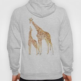 Mother and Baby Giraffes Hoody