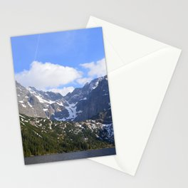 A Beautiful Day at Morskie Oko Stationery Cards