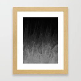 Everything Fades to Black Framed Art Print