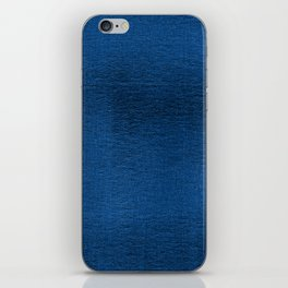Metallic Teal iPhone Skin