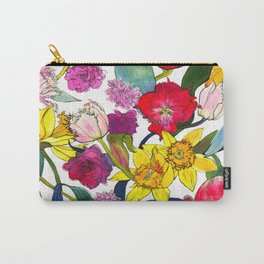 Tulips & Daffodils  Carry-All Pouch