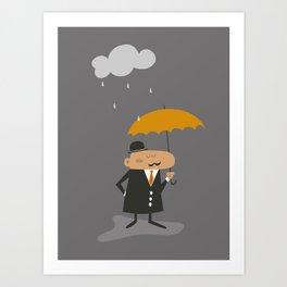 Happy Rainy Day Art Print