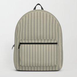 Grey olive stripes . Backpack