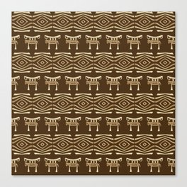 Ethnic African Tribal Pattern. Canvas Print