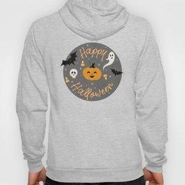 Pumpkin Party in Gray Hoody