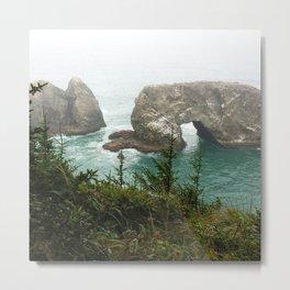 Ocean Cave Metal Print