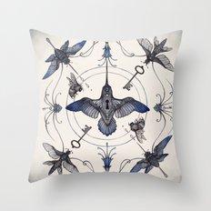 Pollinators Throw Pillow