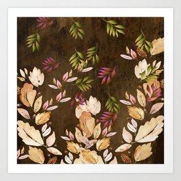 Just Leaves - Just Falling Leaves Art Print