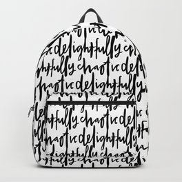 delightfully chaotic Backpack
