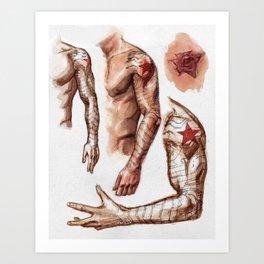 Winter Sleeve Art Print