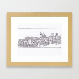 Bergamo, Italy  Framed Art Print