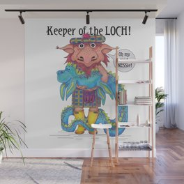 Keeper of the LOCH! Wall Mural