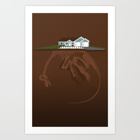 picket. Art Print