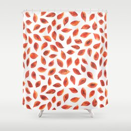 Autumn Leaves - by Rachel Whitehurst Shower Curtain
